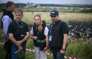 The Donetsk Republic already has foreign observers on the crash site