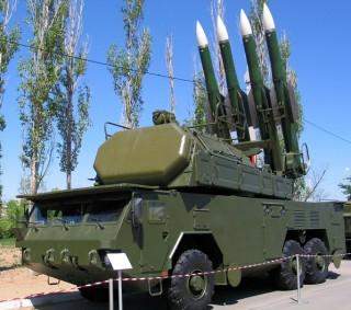 9A317 TELAR of Buk-M2E