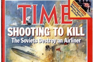 KAL 007 Time magazine cover in 1983