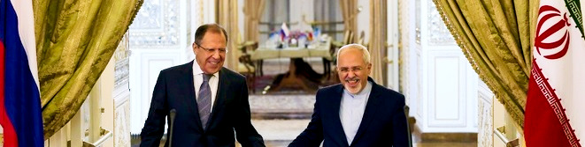 Russian Foreign Minister Lavrov with IRI Prime Minister Zarif