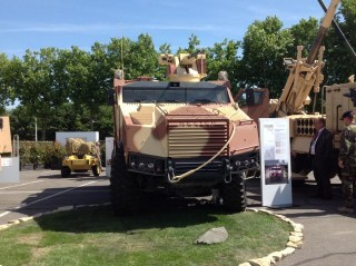 Nexter Vehicle Used by French Army