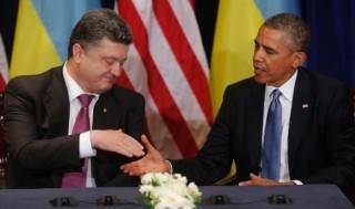 Poroshenko and Obama