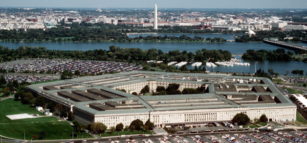 The US Pentagon, Headquarters of the US Armed Forces, Took Over Informally Many Functions Once Formally Performed by the Colonial Office of the British Imperial Government. The US Government Maintains about 800 Military Bases Around the World.