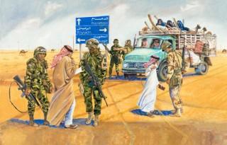 1991 Gulf War, US troops in Saudi Arabia