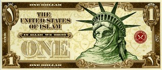 United states of Islam dollar bills-1