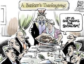 A Bankster Thanksgiving