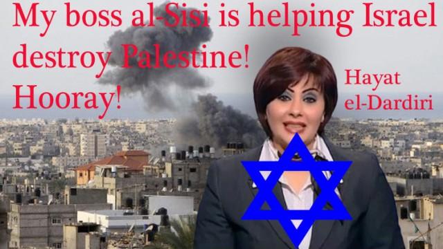 al-Sisi propagandist Hayat al-Dardiri wants Egypt to help genocide Gaza