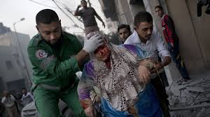 Recent injuries from Israeli attacks on Gaza citizens