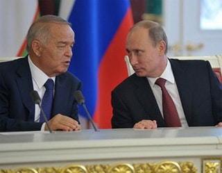 Islam Karimov and Vladimir Putin, 2013