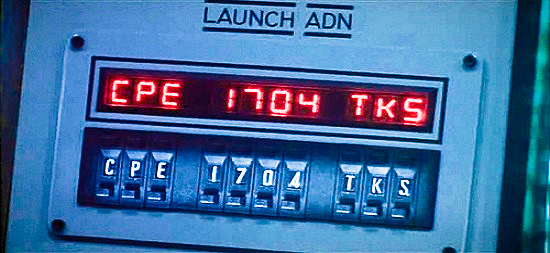 Launch codes are a prerequisite to launching.