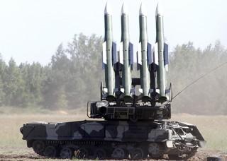 SA-17 launcher