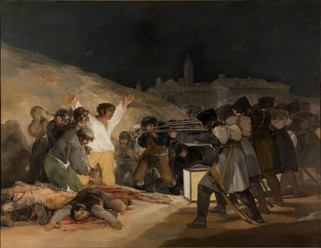 Francisco Goya's Third of May, 1808