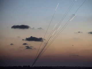 Rocket get fired in batches with delayed action triggers as they know the IDF will quickly blast the site