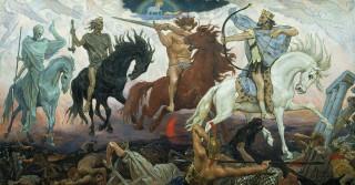 Four Horsemen of Apocalypse, by Viktor Vasnetsov (1887)