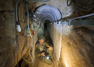The Gaza tunnels were built to inflict more casualities on attacking Israeli troops
