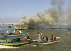 The Israeli Navy regularly attacks Gaza fishermen