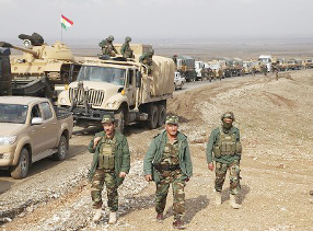 Kurds stand up to militants