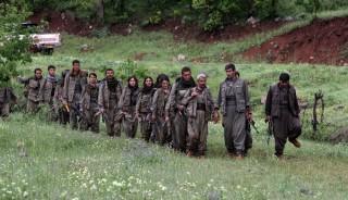 PKK fighters in Iraq, 2013