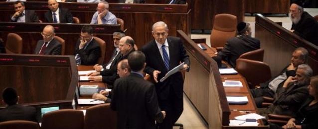 Netanyahu at Knesset