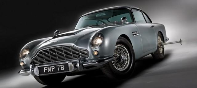 Original Bond Aston Martin DB5