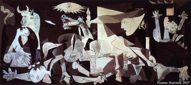 Picasso 1937 Guernica