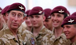 HRH Prince Charles visited troops in Basra in the last deployment.