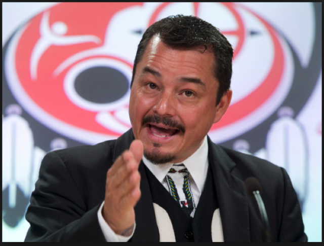 Shawn Atleo, Former National Chief of the Assembly of First Nations Who Recently Resigned.