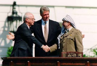 Signing Oslo Accords