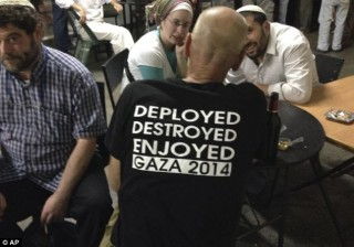 If you criticize the T-shirt, you are obviously an anti-Semite