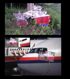 MH17 Cockpit evidence