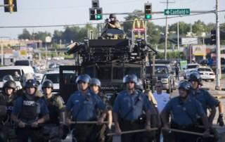 Ferguson, Missouri, USA, police