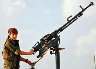 Kurds don't have the big guns, yet