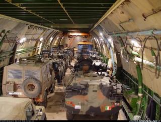 Supply planes