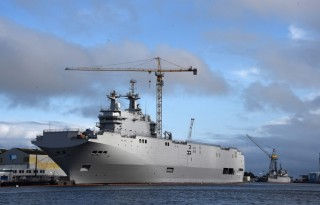 France is now holding Russia's Mistral ship hostage to the Ukraine peacetalks