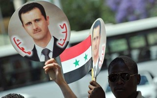 The Syrian Presidential election was monitored by international monitors, including VT's own Jim Dean