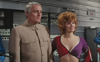 Charles Gray and Jill St John