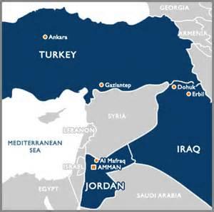 Syria Jordan Turkey