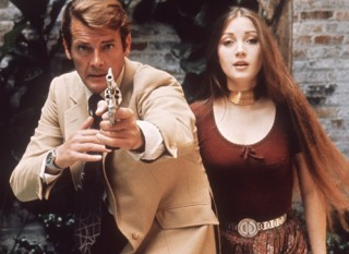 Roger Moore and Jane Seymour