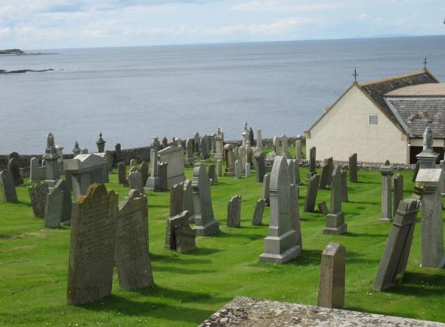 Churchyard at MacDuff