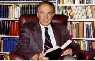 Richard Pipes, father of Daniel Pipes