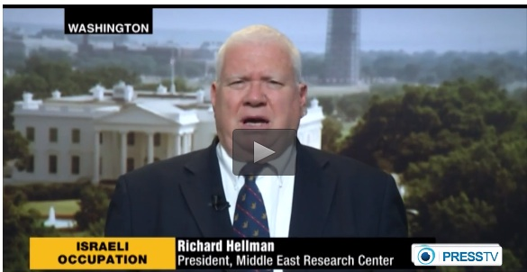 "Richard ""the Dick from Washington"" Hellman: Pushiest Zionist loudmouth I've yet met"