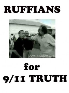 """Fight Bob Fest 2009: Allen Ruff caught on video punching a guy for wearing an """"Israel Did 9/11"""" T-shirt...which inspired this new T-shirt design"""