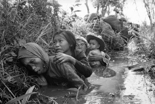 Vietnam is now doing well. The US contibution was to leave.