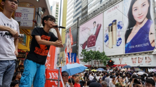 Joshua Wong of Occupy Hong Kong