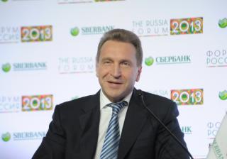 Igor Shuvalov, Russian Deputy Minister