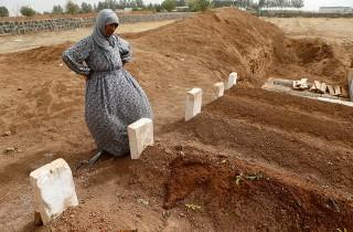 The cemeteries are winning in Kobani