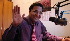 John Robles at the Voice of Russia