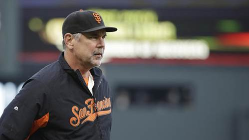 San Francisco's Bruce Bochy has won 1,594 games in 20 seasons, nearly 300 more than any other current manager. (Eric Risberg / Associated Press