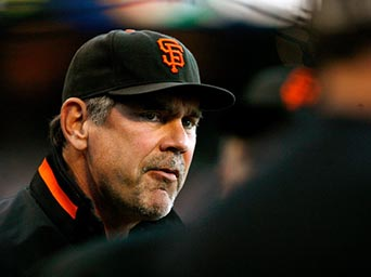 The wily fox and super motivator Bruce Bochy ponders his next move as his SF Giants won their eighth consecutive postseason elimination game over the Washington Nationals and set the stage for perhaps another World Series appearance ~ but most certainly an early and well deserved baseball Hall of Fame selection.