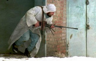 Chechen terrorist training